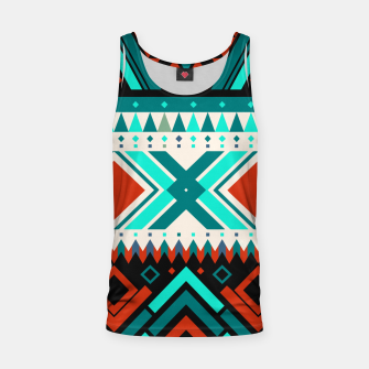 Thumbnail image of Aztec Ethnic Pattern Art Tank Top, Live Heroes