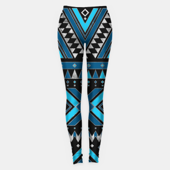 Aztec Ethnic Pattern Art Leggings thumbnail image