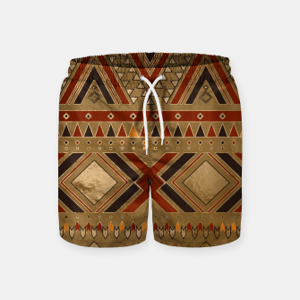 Thumbnail image of Aztec Ethnic Pattern Art Swim Shorts, Live Heroes