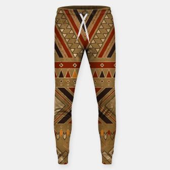 Aztec Ethnic Pattern Art Sweatpants obraz miniatury