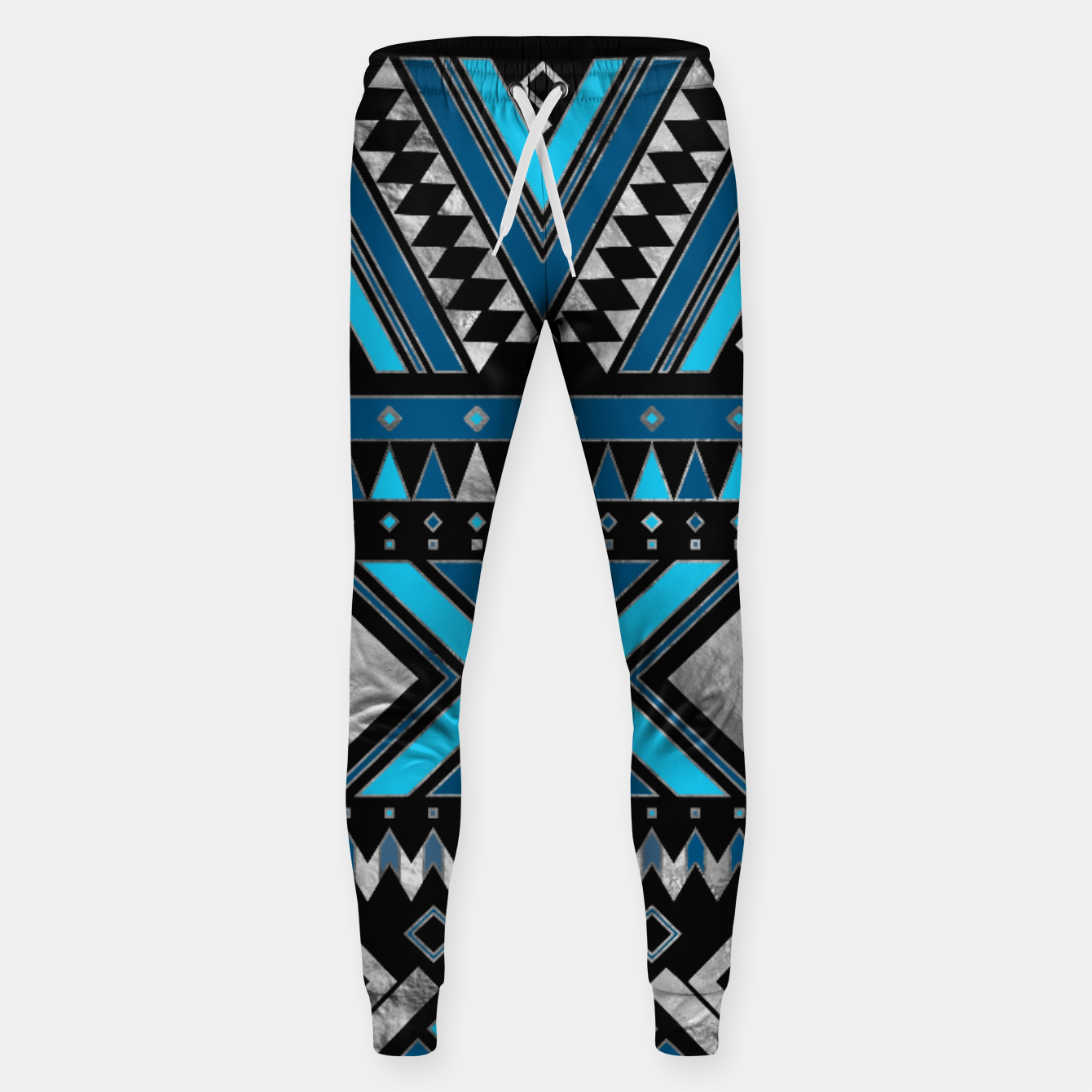 Image of Aztec Ethnic Pattern Art Sweatpants - Live Heroes