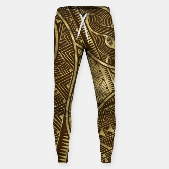 Thumbnail image of Ethnic Tribal Pattern Art  Sweatpants, Live Heroes