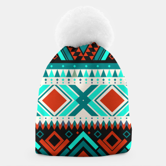 Thumbnail image of Aztec Ethnic Pattern Art Beanie, Live Heroes