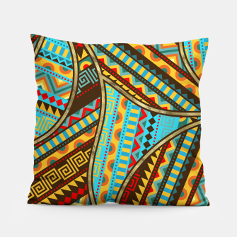 Imagen en miniatura de Ethnic Tribal Pattern Art  Pillow, Live Heroes