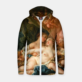 Thumbnail image of Jupiter in the Guise of Diana, and Nymph Callisto Zip up hoodie, Live Heroes