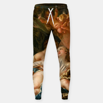 Thumbnail image of Jupiter in the Guise of Diana, and Nymph Callisto Sweatpants, Live Heroes