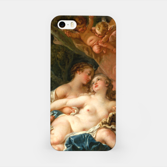 Thumbnail image of Jupiter in the Guise of Diana, and Nymph Callisto iPhone Case, Live Heroes