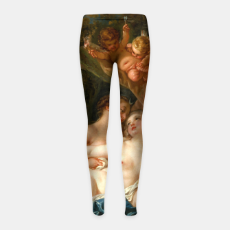 Thumbnail image of Jupiter in the Guise of Diana, and Nymph Callisto Girl's leggings, Live Heroes