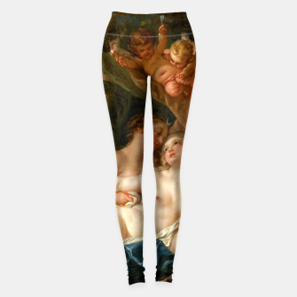 Jupiter in the Guise of Diana, and Nymph Callisto Leggings obraz miniatury