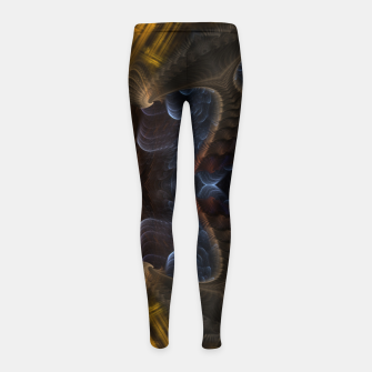 Thumbnail image of PVM3PRR90 Girl's leggings, Live Heroes