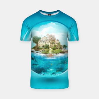 Thumbnail image of Bubble Fantasy T-shirt, Live Heroes