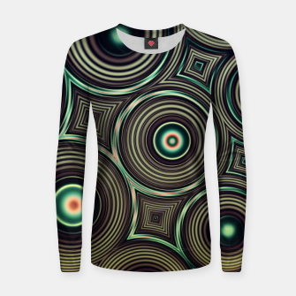 Miniature de image de Circles Women sweater, Live Heroes