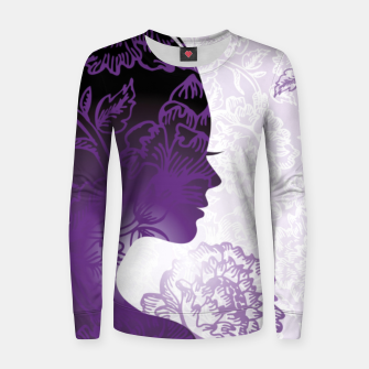 Miniature de image de Fractal Woman Women sweater, Live Heroes