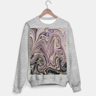Thumbnail image of Fluid Kiss #1 #abstract #decor #art  Sweatshirt regulär, Live Heroes