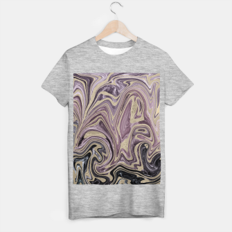 Thumbnail image of Fluid Kiss #1 #abstract #decor #art  T-Shirt regulär, Live Heroes