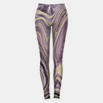 Thumbnail image of Fluid Kiss #1 #abstract #decor #art  Leggings, Live Heroes