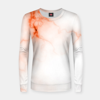 Miniature de image de Orange Marble Women sweater, Live Heroes