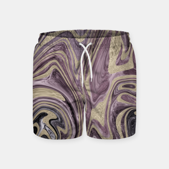 Thumbnail image of Fluid Kiss #1 #abstract #decor #art  Badeshorts, Live Heroes