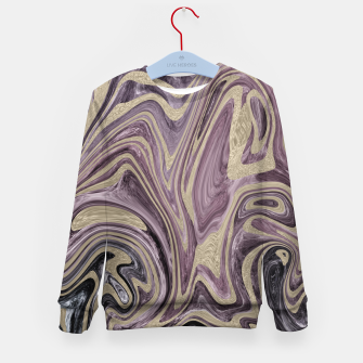 Thumbnail image of Fluid Kiss #1 #abstract #decor #art  Kindersweatshirt, Live Heroes