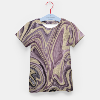 Thumbnail image of Fluid Kiss #1 #abstract #decor #art  T-Shirt für kinder, Live Heroes