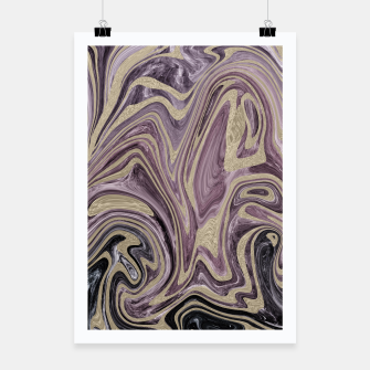 Thumbnail image of Fluid Kiss #1 #abstract #decor #art  Plakat, Live Heroes