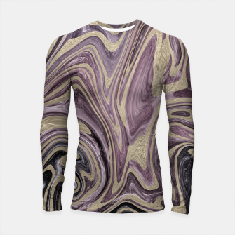 Thumbnail image of Fluid Kiss #1 #abstract #decor #art  Longsleeve rashguard, Live Heroes
