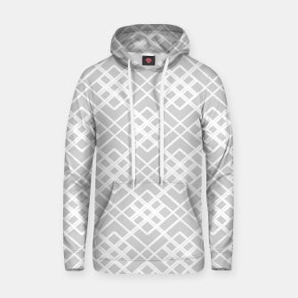 Miniaturka Abstract geometric pattern - gray and white. Hoodie, Live Heroes
