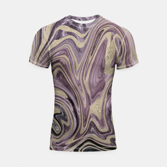 Thumbnail image of Fluid Kiss #1 #abstract #decor #art  Shortsleeve rashguard, Live Heroes