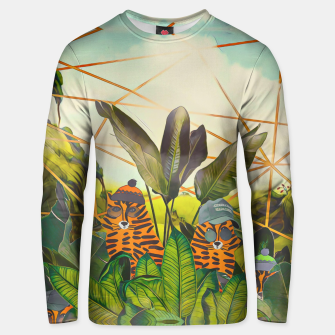 Thumbnail image of Tigers in the jungle Unisex sweater, Live Heroes