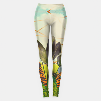 Thumbnail image of Tigers in the jungle Leggings, Live Heroes