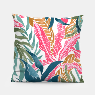 Thumbnail image of Botanicalia Pillow, Live Heroes