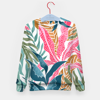 Thumbnail image of Botanicalia Kid's sweater, Live Heroes