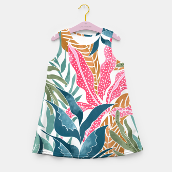 Thumbnail image of Botanicalia Girl's summer dress, Live Heroes