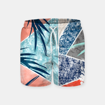 Thumbnail image of Tropicalia Swim Shorts, Live Heroes
