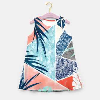 Thumbnail image of Tropicalia Girl's summer dress, Live Heroes