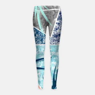 Thumbnail image of Tropicalia Girl's leggings, Live Heroes