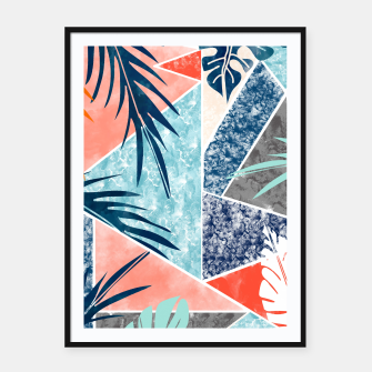 Thumbnail image of Tropicalia Framed poster, Live Heroes