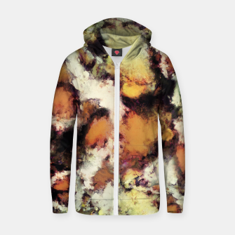 Thumbnail image of Fractured viewpoint Zip up hoodie, Live Heroes