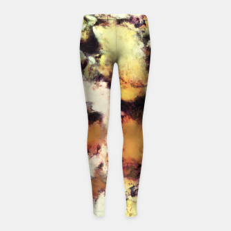 Thumbnail image of Fractured viewpoint Girl's leggings, Live Heroes