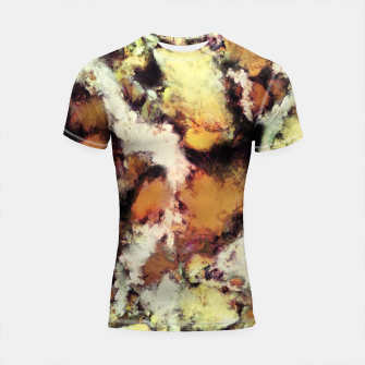 Thumbnail image of Fractured viewpoint Shortsleeve rashguard, Live Heroes