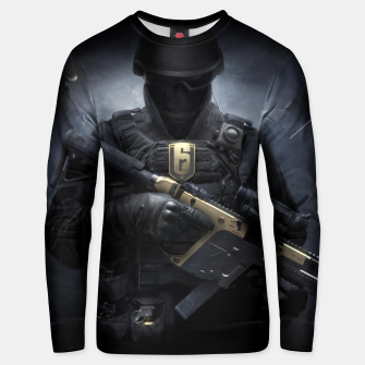 Thumbnail image of R6 Year 3 Pass Unisex sweater, Live Heroes