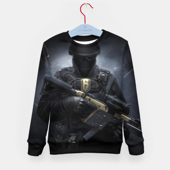 Thumbnail image of R6 Year 3 Pass Kid's sweater, Live Heroes
