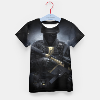 Thumbnail image of R6 Year 3 Pass Kid's t-shirt, Live Heroes