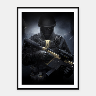 Thumbnail image of R6 Year 3 Pass Framed poster, Live Heroes