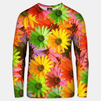 Miniaturka Colorful Flowers Unisex sweater, Live Heroes