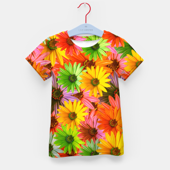 Colorful Flowers Kid's t-shirt miniature