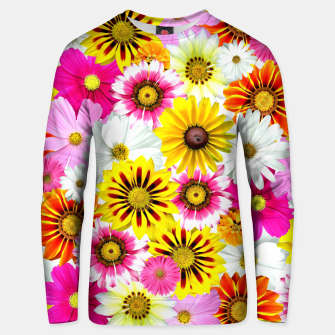 Miniaturka Colorful Summer Flowers Unisex sweater, Live Heroes