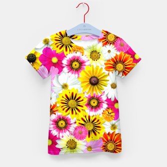 Thumbnail image of Colorful Summer Flowers Kid's t-shirt, Live Heroes