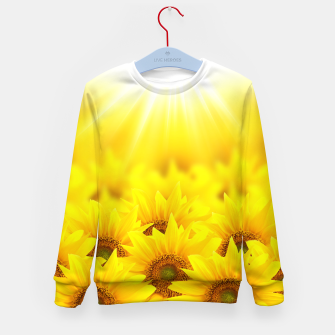 Thumbnail image of Beautiful Sunflower Kid's sweater, Live Heroes