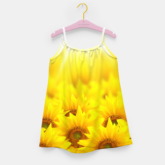 Thumbnail image of Beautiful Sunflower Girl's dress, Live Heroes